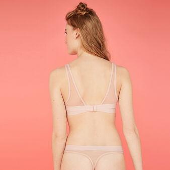 Sujetador push-up rosa empolvado inloviz pink.