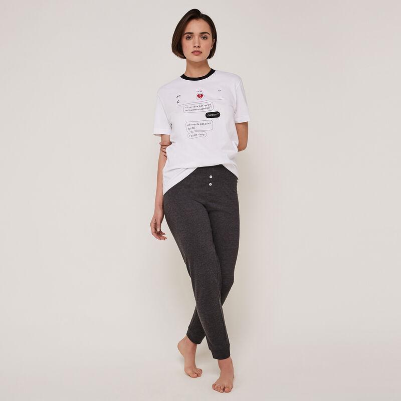 Pantalón de punto con detalle de cinturón oupsybabiz;