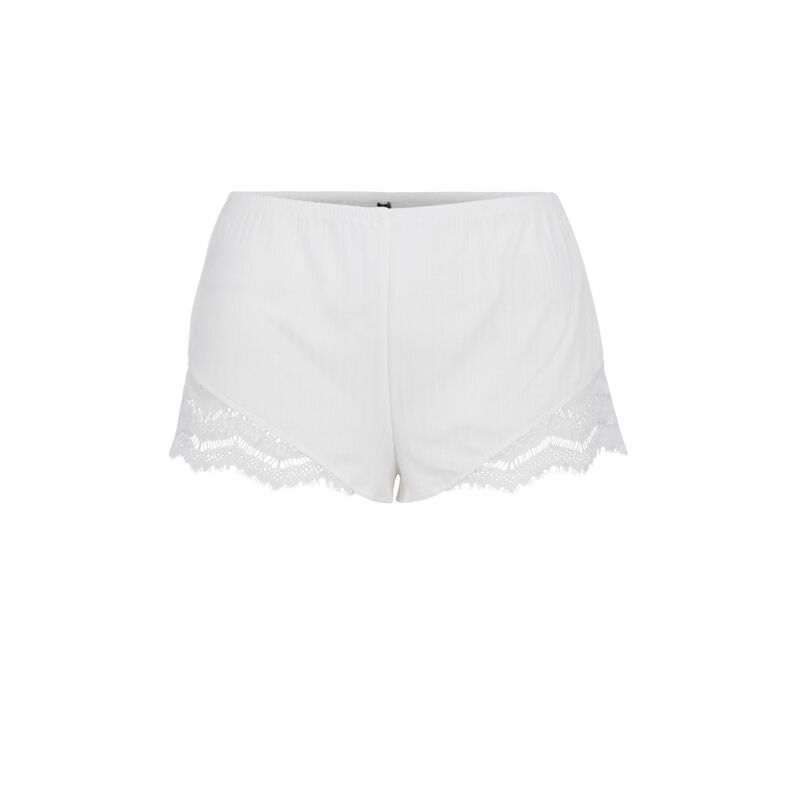 Short blanco cupiz;