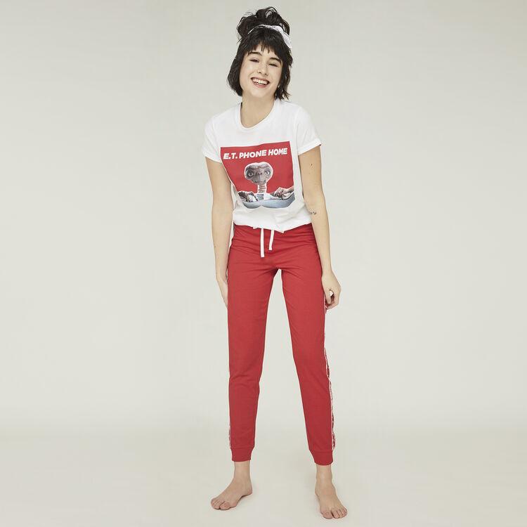 Pantalón rojo sidebandiz;