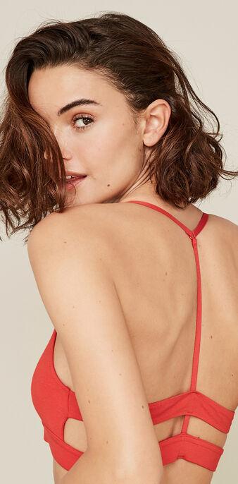 Sujetador rojo femimiz red.