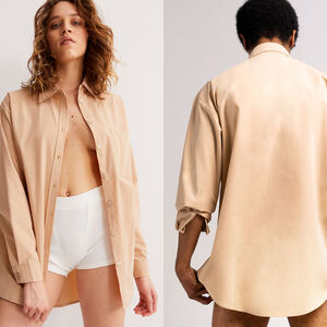Camisa unisex - beige