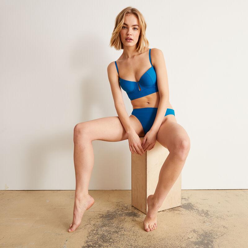 Braguita lisa - azul;