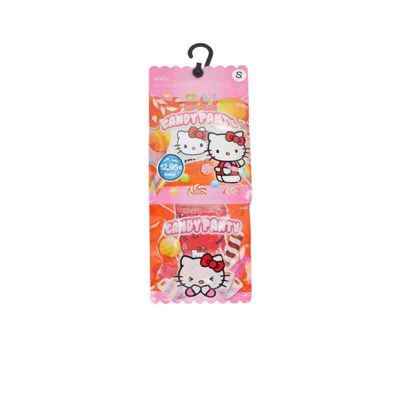 Juego de dos braguitas de algodón con estampado Hello Kitty hellokittiz;