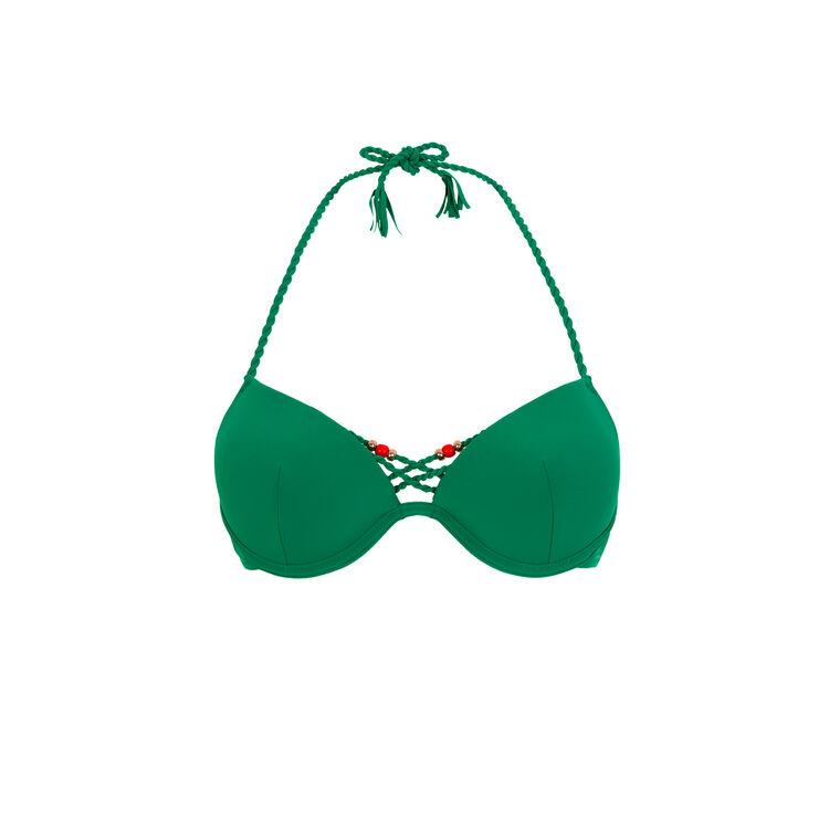 Parte de arriba push-up verde esmeralda mumbaiz;