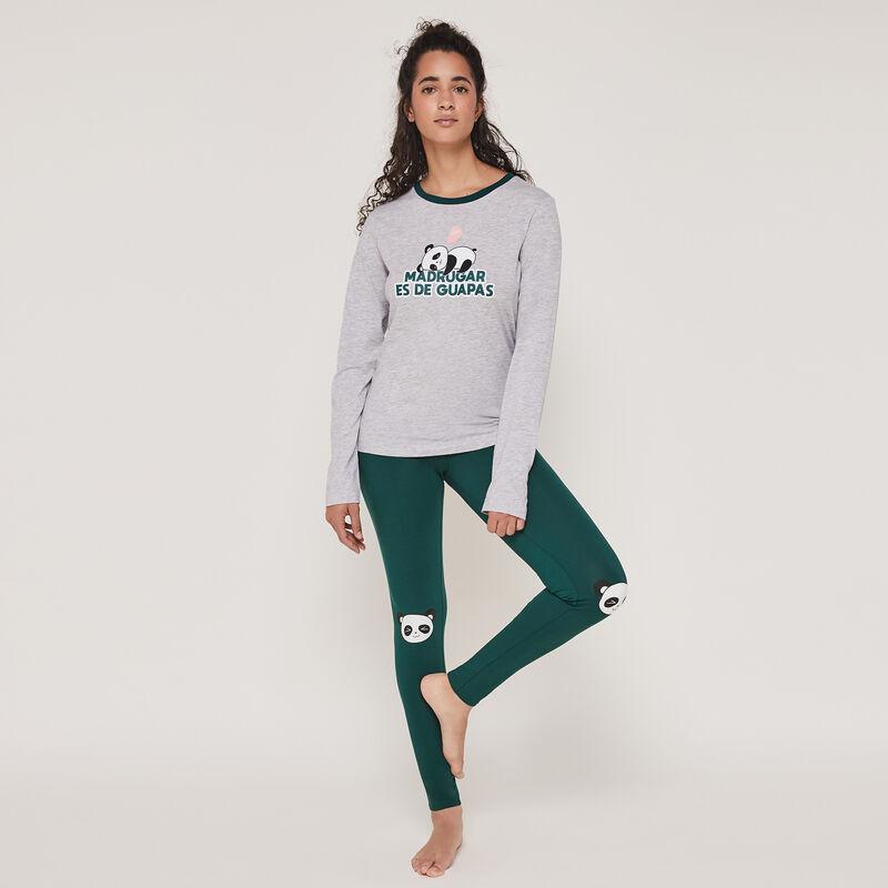 Conjunto de pijama top + pantalón esheymochiz;