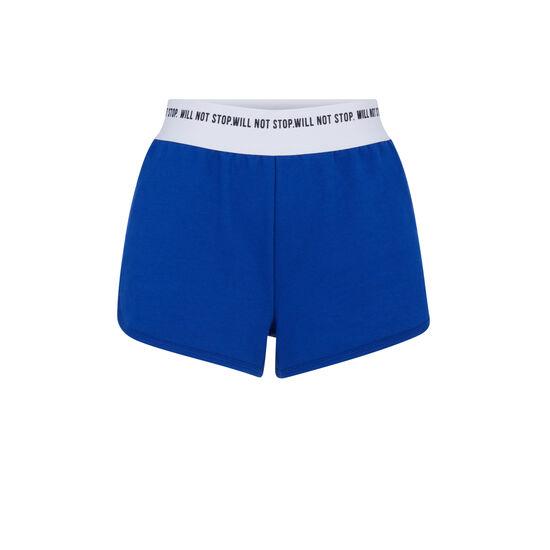Short azul funpoweriz;