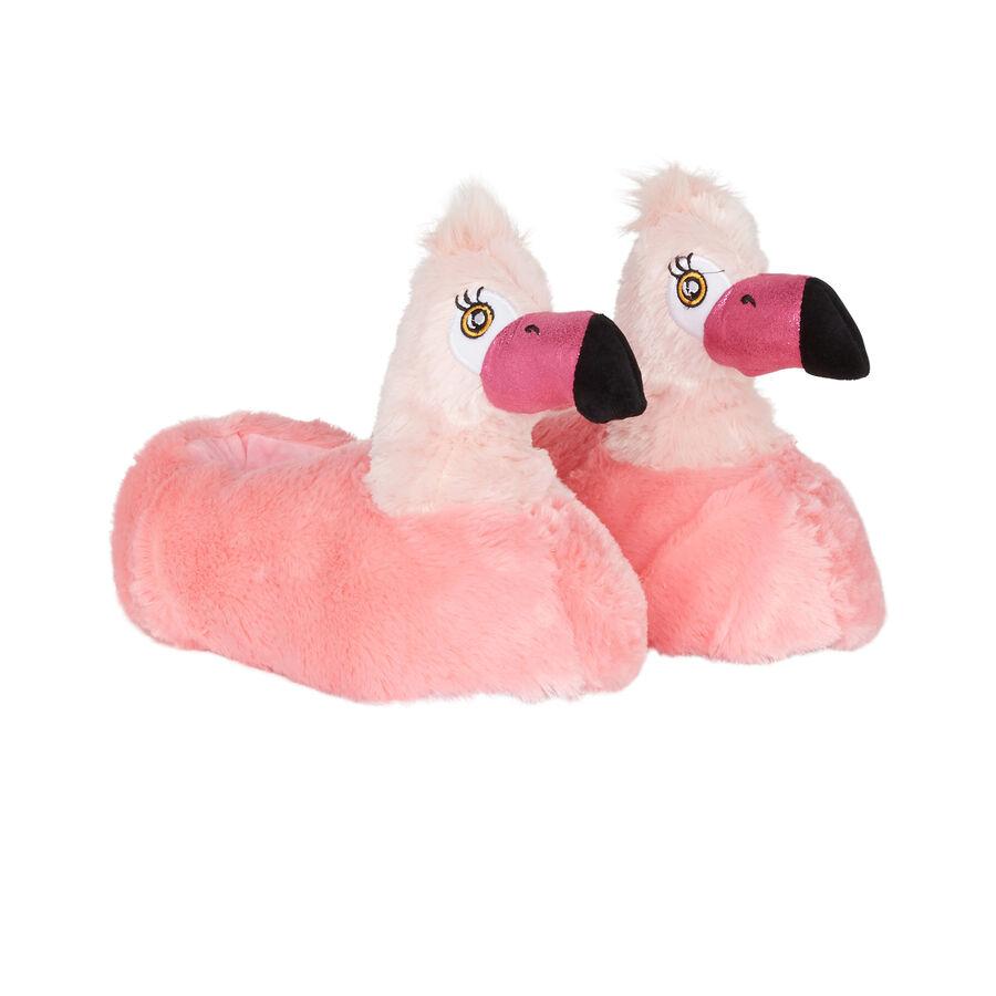 Zapatillas rosas piflamingiz;
