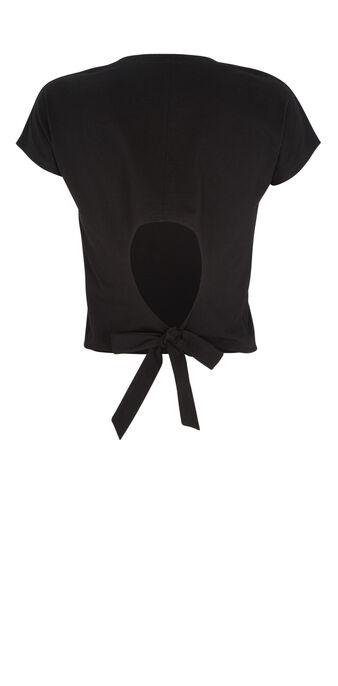 Top negro mangatiz  black.