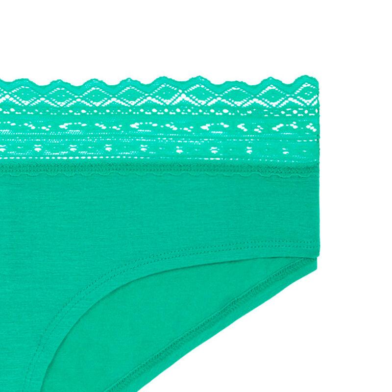 BRAGUITA CULOTTE verde esmeralda WAISTIZ;