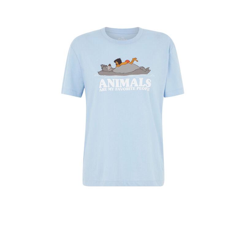 camiseta manga corta con estampado de animales loveanimaliz;