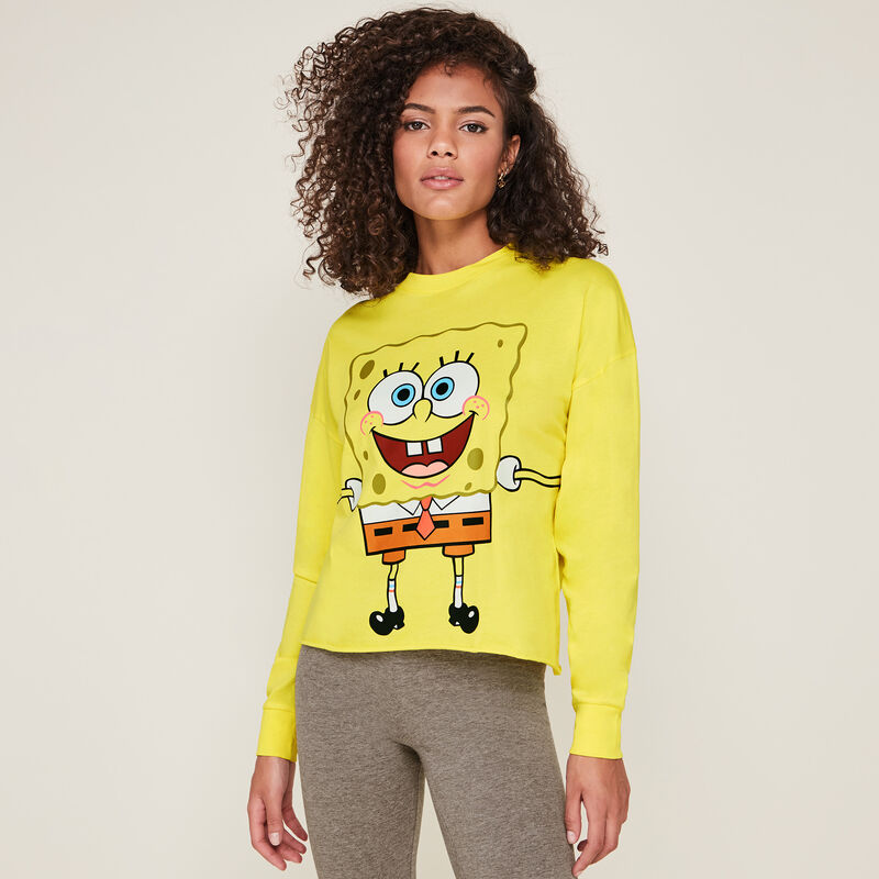 Top estampado bob esponja bralongiz;