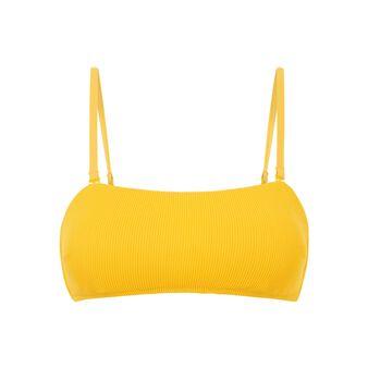 Top de bikini bandeau amarillo  red.
