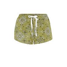 Short caqui bandatiz green.