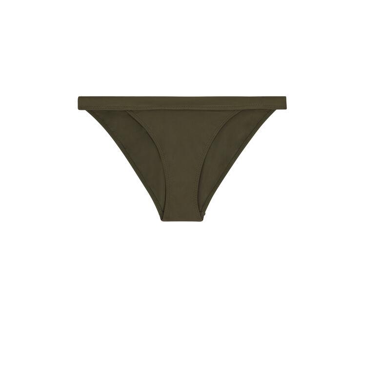 Parte de abajo de bikini caqui sahariz;