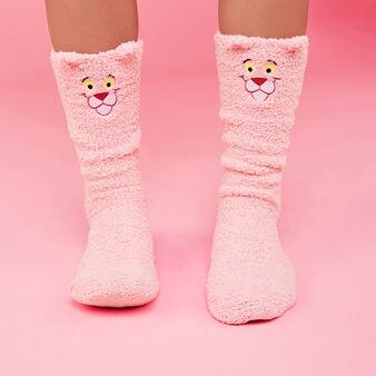 Calcetines altos rosas pantherosiz pink.