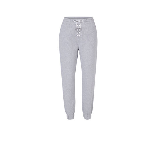 Pantalón gris delaciz;