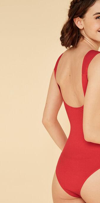 Body rojo knotiz red.