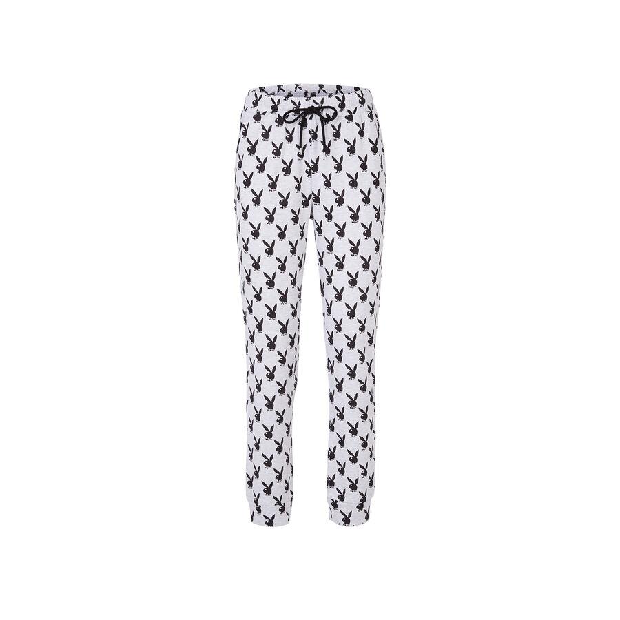 Pantalón gris claro rabitiz;
