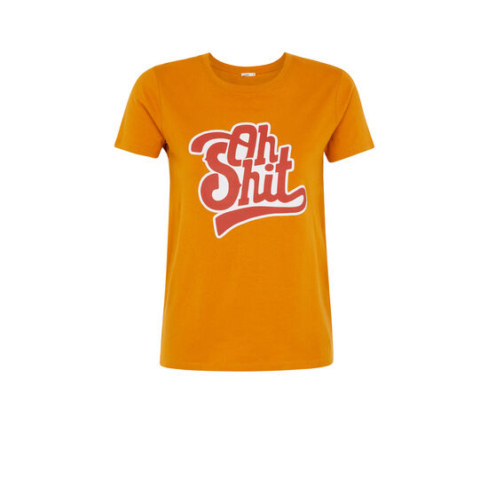 Camiseta color ocre ohmyiz;