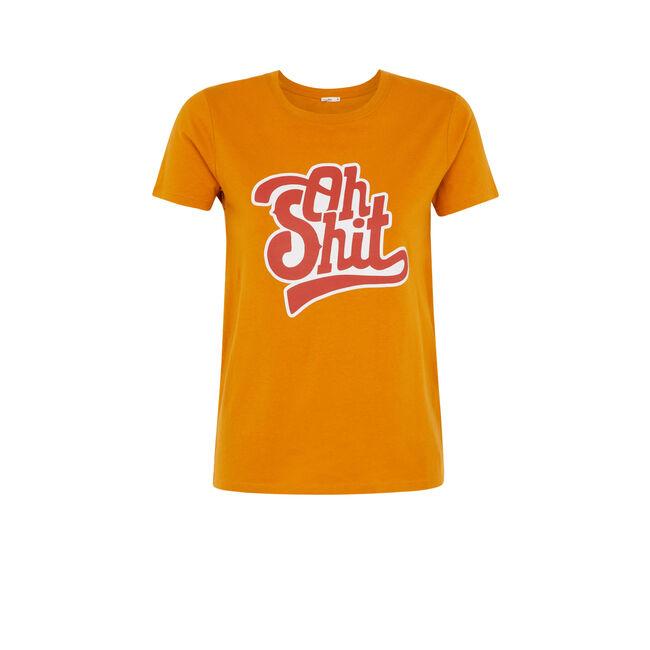 Camiseta color ocre ohmyiz;