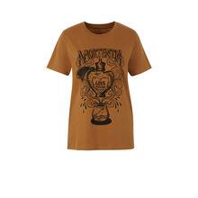 Top marrón dorado alohomoraiz golden brown.