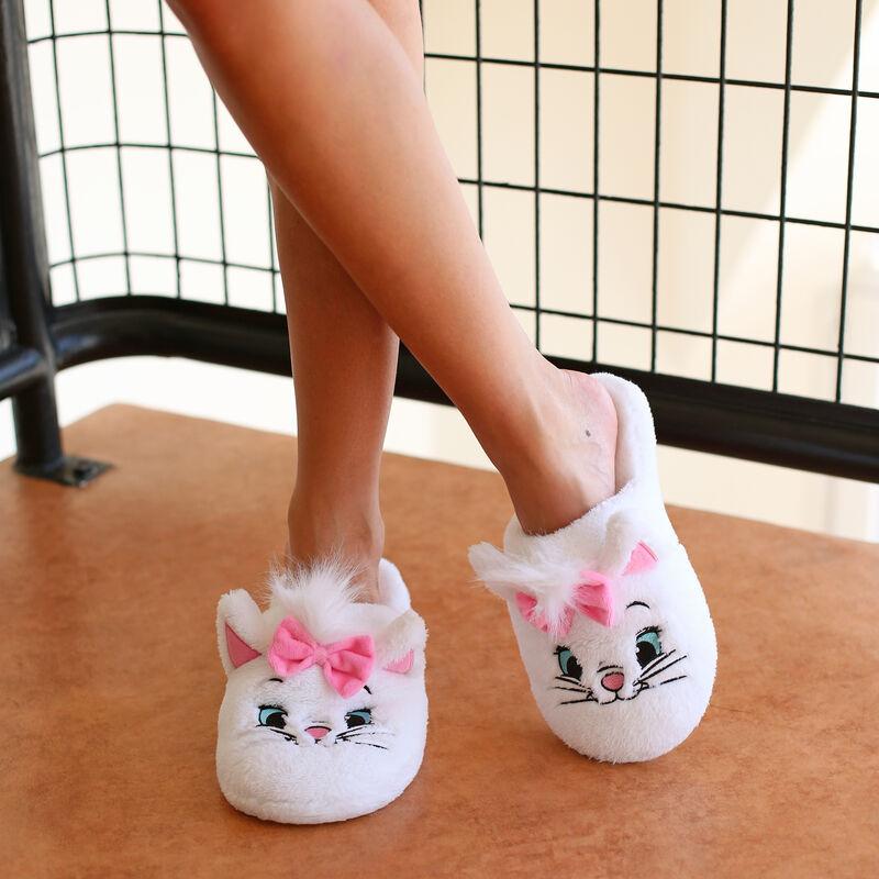 Zapatillas Los aristogatos - blanco ;