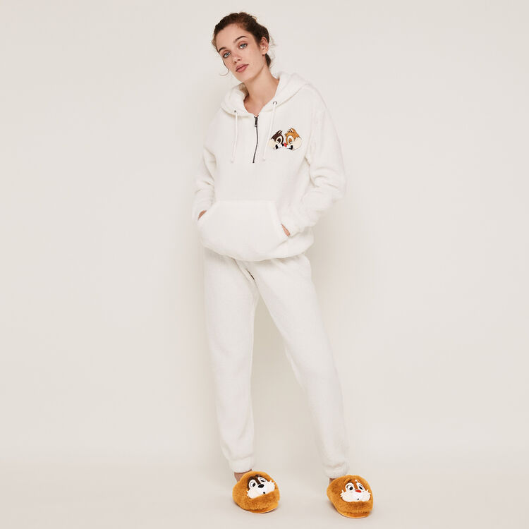 Pantalón polar blanco Cutictiz;