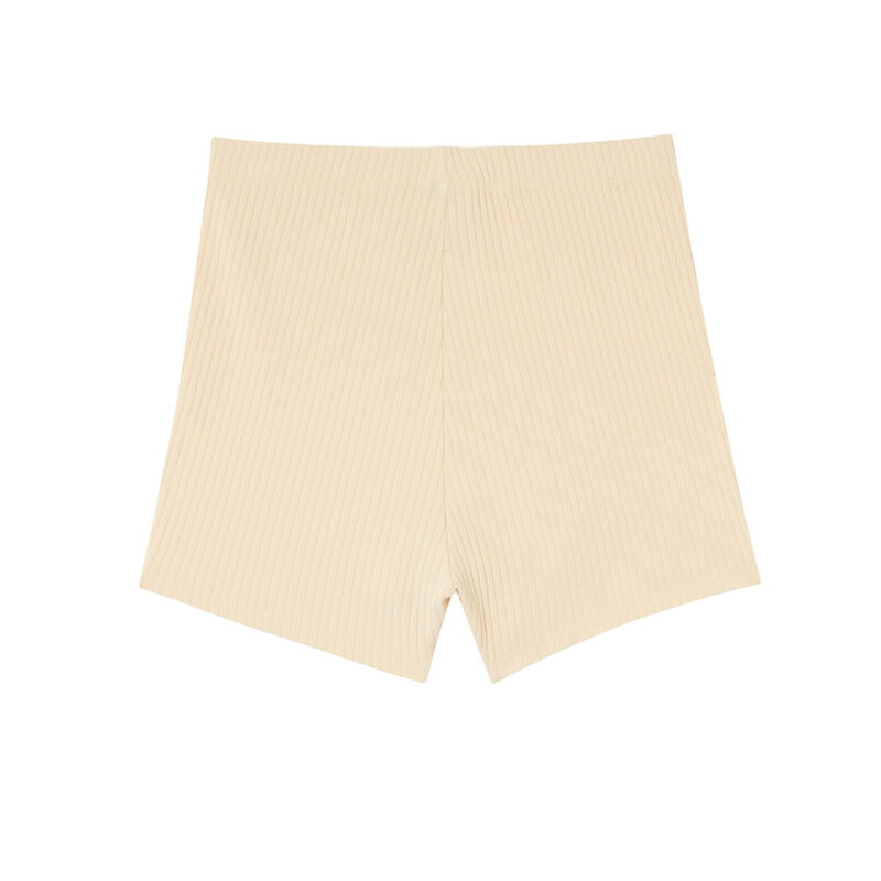 Pantalón ciclista liso - crudo;