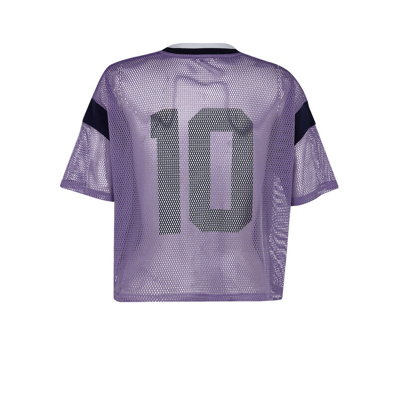 Camiseta violeta Girlmailliz;