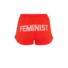 Short rojo feminiziz red.