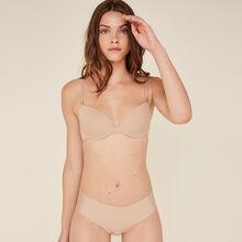 Lote de dos shorty nude de microfibra nude.