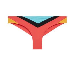 Parte de abajo de bikini negra tandoriz pink.