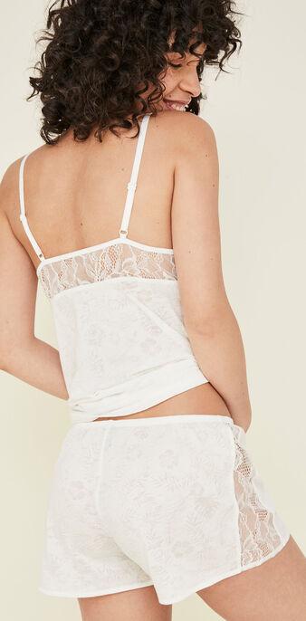 Top blanco tropaliz white.