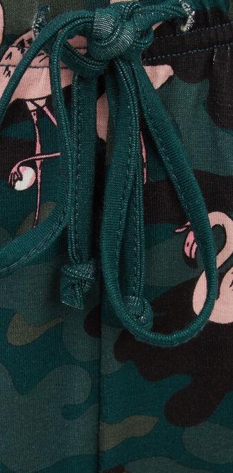 Pantalón verde flamicutiz green.