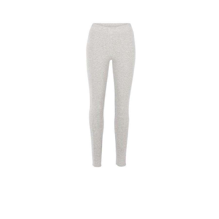 Pantalon gris leguiniz;
