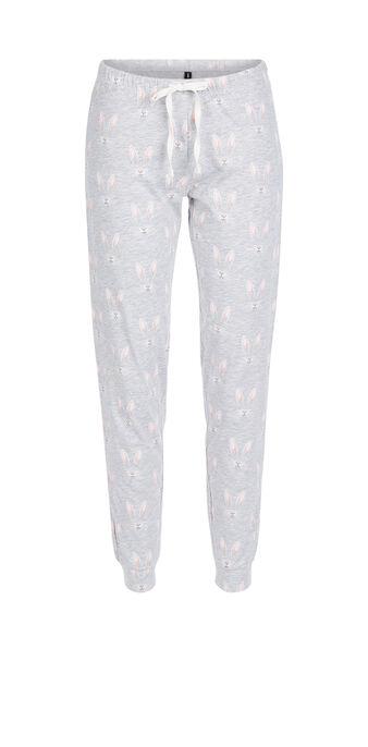 Pantalón gris claro gudetamiz grey.