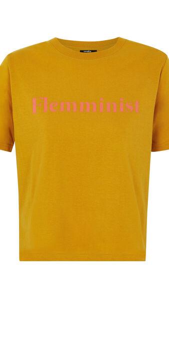 Top amarillo mostaza flemminiz yellow.