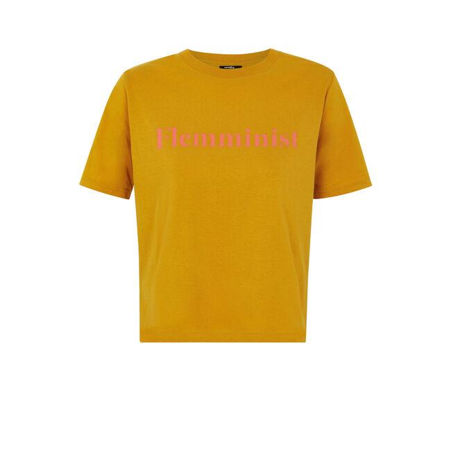 Top amarillo mostaza flemminiz;