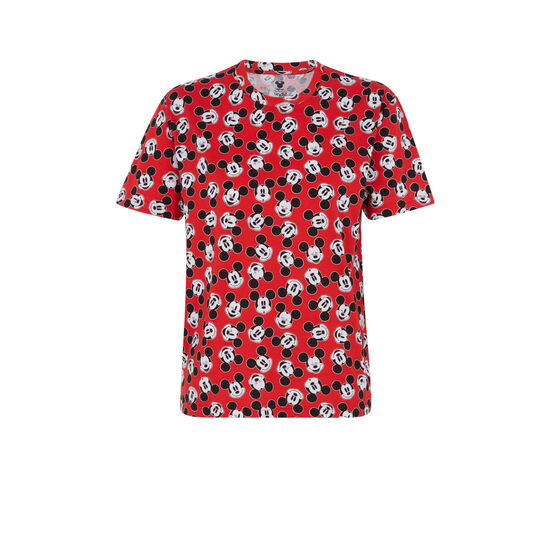 Camiseta roja plumickiz;