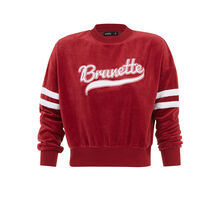 Sudadera burdeos teambruniz biking red.