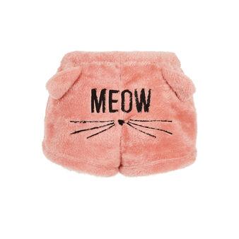 Short de peluche rosa gatoniz pink.