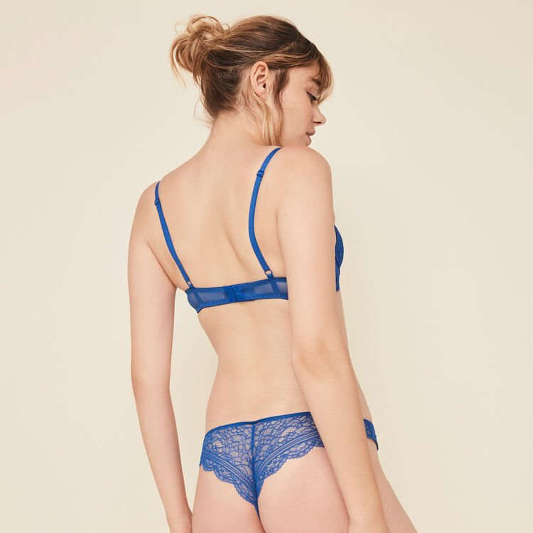 Sujetador push-up azul Everydayiz;