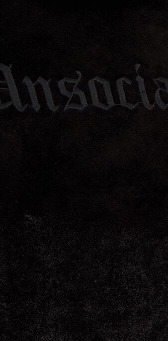 Sudadera negra antisociz black.