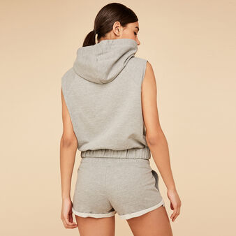 Short gris runniz  grey.
