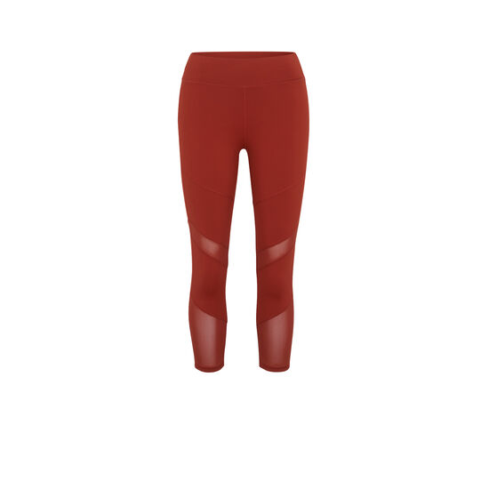 LEGGINGS COLOR LADRILLO MACRASPORTIZ;