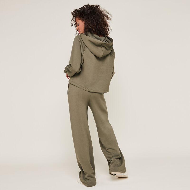 Pantalón ancho con cordón croisileoiz;