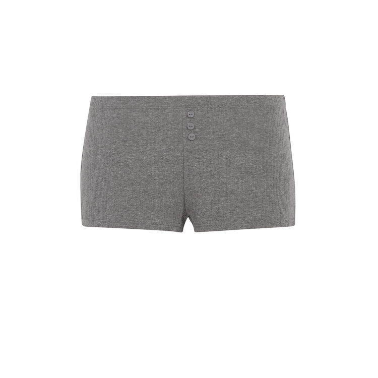 Shorts gris oscuro newdebidiz;