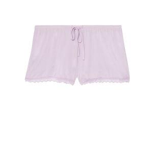 Shorts lisos de punto - morado