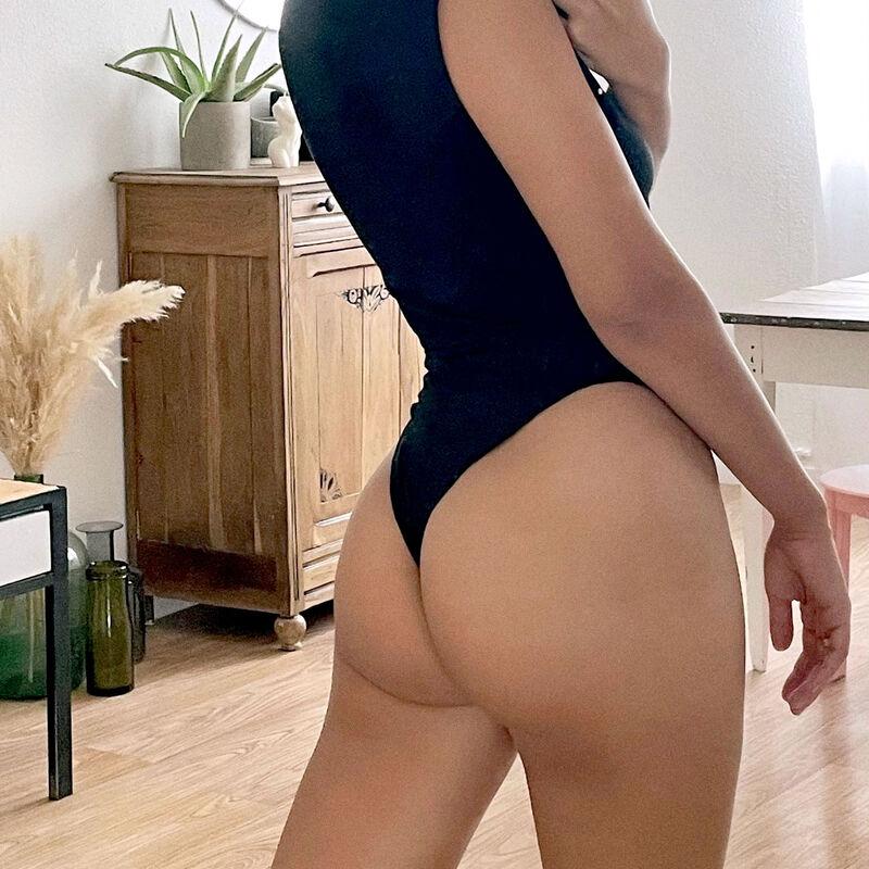 Body efecto top - negro;